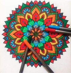 Take a break to color an adult coloring book, so you keep busy but your mind can wander. | 29 Ways To Manage Your ADHD At Work
