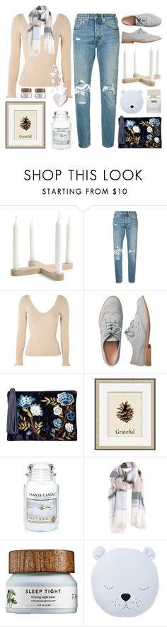 """-Top Set- Butterfly Kisses"" by lysianna ❤ liked on Polyvore featuring Levi's, Topshop, Gap, Sam Edelman, Pottery Barn, Yankee Candle, Bella Freud, cute, soft and pastel"