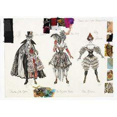 Costume design - Maria Bjornson costume design