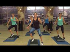 Cathe Friedrich's Strong and Sweaty Cardio Slam Workout - YouTube