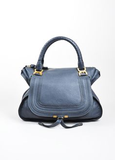 Luxury Garage Sale is an upscale consignment brand specializing in pre-owned designer clothing, shoes and accessories. Chloe Marcie Bag, Chloe Bag, Grey Purses, Purses And Bags, Buy Bags, Cute Handbags, Fashion Handbags, Pebbled Leather, Fashion Accessories