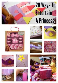 20 Ways To Entertain A Princess : The Chirping Moms