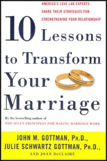 More Marriage from Gottman