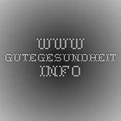 www.gutegesundheit.info