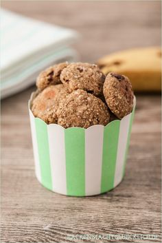 Gesunde Haferflocken-Kekse ohne Zucker, Butter und Ei auf backenmachtgluecklich.de // skinny oatmeal cookies