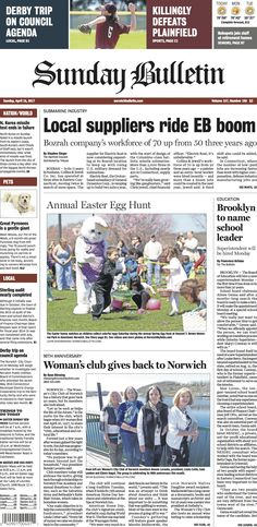 Sunday, April 16, 2017 - Subscribe to The Bulletin today: http://www.norwichbulletin.com #ctnews #newlondoncounty #windhamcounty