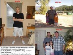 Jared's 240 lb. Raw Vegan Weight Loss