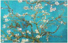 Vincent Van Gogh Almond Blossoms Art Poster 11x17