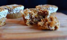 """Oppskrift på nydelige gresskarmuffins med ostekrem og hjemmelaget """"pumpkin spice"""" (Bakekona)"""