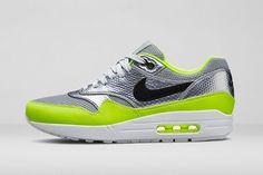 85b15f278128c Nike Air Max 1 FB Mercurial Metallic Volt release infos  airmax  am1  nike. Nike  Free Runs ...