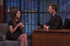 Count Anna Kendrick as a new Packers fan -- thanks to Clay Matthews