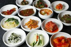 What is banchan? Here's a guide to korean dishes and eight of the best banchan dishes you should try on your next Korean outing. Korean Bbq At Home, Korean Barbeque, Best Korean Food, South Korean Food, Korean Side Dishes, Side Dish Recipes, Asian Recipes, Ethnic Recipes, Asian Foods