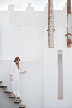 Floating stairs. From the Toast 2013 Spring Lookbook.