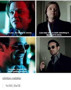 Matt looks so heartbroken in the last gif :{{{ and he was so joyful when he and foggy started the firm :{{{