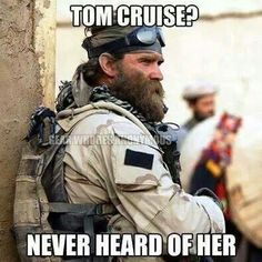 LMFAO!!   Tom Cruise is such a moron....