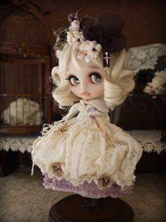lavender dress for the summer, design by Milk Tea