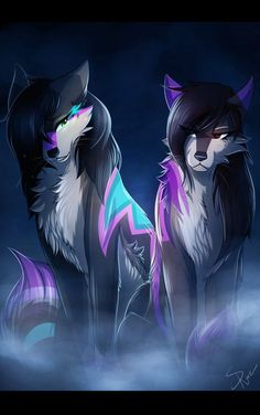 Mirror by on - Furry art - İmages Pet Anime, Anime Animals, Cute Animals, Anime Wolf Drawing, Furry Drawing, Drawing Drawing, Anime Sketch, Drawing Ideas, Furry Wolf