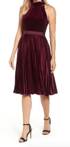 Velvet is a huge trend this season--perfect for the holidays!