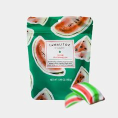 Tamalitoz by Sugarox is the fiery and fierce Mexican style candy that takes your tastebuds on a journey from sweet to heat. Holidays To Mexico, Tamarind, Hard Candy, Sweet And Salty, Watermelon, Snack Recipes, Rocks, Chips, Lime
