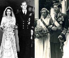 Nunta Reginei Elisabeta II 1947 si nunta Regelui Mihai 1948