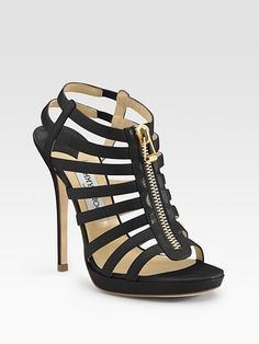 Jimmy Choo - Glenys Cage Platform Sandals! Perfect to match my JC bag