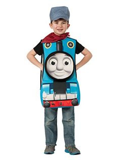 www.myhabit.com  Deluxe Thomas costume featuring 8-inch pop-out front foam character tunic, conductor cap and red scarf