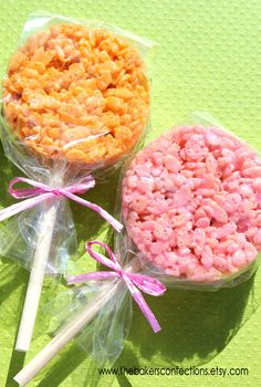 "Dessert Sticks - Rice Crispy Pop or Candy Apple Sticks - 5 1/2"" THICK Sticks (48 count). $7.00, via Etsy."