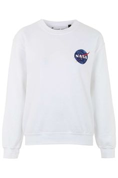 Nasa Distressed Sweatshirt By Tee and Cake - Topshop