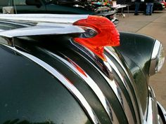 1950 Pontiac hood ornament..Re-pin...Brought to you by #CarInsurance at #HouseofInsurance in Eugene, Oregon
