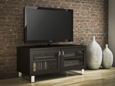 createch design home entertainment unit for smaller budgets the miso collection will adorn