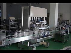 piston filler machine for Jar&glass&plastic bottles automatic 6 filling nozzels filling equipment