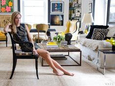:: Beauvais Antelope Carpet in Nicole Hanley Mellon's apartment ::