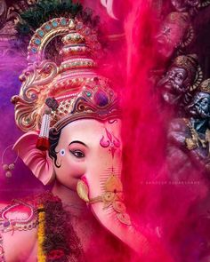 Ganpati bappa wallpapers House Beautiful dominican house of beauty Jai Ganesh, Ganesh Lord, Ganesh Idol, Shree Ganesh, Lord Shiva, Ganesha Art, Baby Ganesha, Shiva Art, Krishna Art
