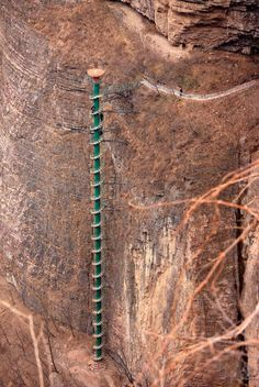 Escalera en espiral en China