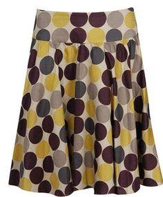 Make circle skirts easily - great tutorial!