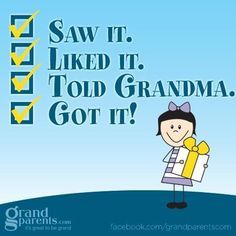 I love being a grandparent...the joys without the job!
