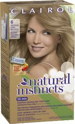 this is a natural instincts color- Linen ( a Medium cool blonde) might also be a good color)