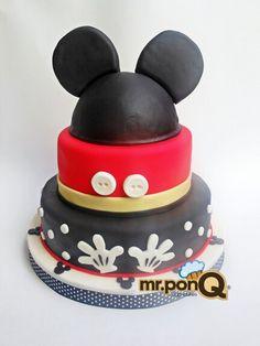 Mr.ponQ torta Mickey Mouse