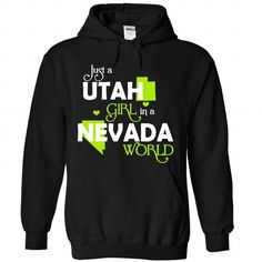 A UTAH-NEVADA girl Lime03 - #coworker gift #mason jar gift. LOWEST SHIPPING => https://www.sunfrog.com/States/A-UTAH-2DNEVADA-girl-Lime03-Black-Hoodie.html?68278