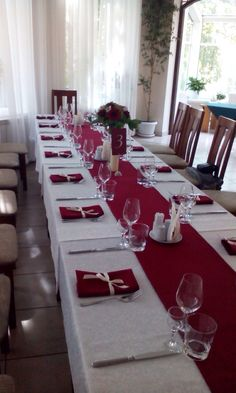 Decoration of the guests` tables