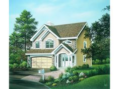 ePlans Traditional House Plan – Gracious Living On A Small Lot– 1671 Square Feet and 3 Bedrooms from ePlans – House Plan Code HWEPL76146