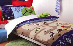 Boys' Bedding Sets, Quilt & Duvet Covers for Kids - Kids Bedding Dreams Boys Bedding Sets, Teen Bedding, Pirate Bedding, Double Bed Size, Cubby Houses, Make Your Bed, Quilt Cover Sets, Bedroom Accessories, Kid Beds