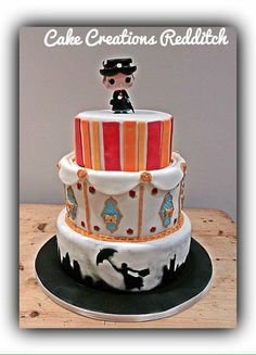 Mary Poppins Birthday Cake Zoes birthday party Pinterest