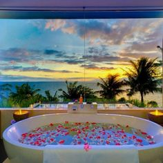 Bathtub at beach house