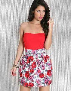 Red & White Dress!