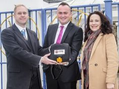 A Hertfordshire primary school now has the reassurance of a heart defibrillator on its premises – and it's not the first time an organisation in the county has been donated life-saving equipment by Wayne's Fund, a charity set up by our local estate agent, Glynn Pope.