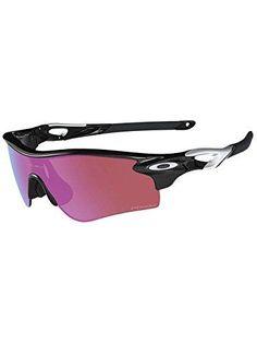 Oakley Radarlock Prizm Sunglasses Polished Black/Prizm Golf-Slate Iridium, One Size - Men's Running Sunglasses, Cycling Sunglasses, Sports Sunglasses, Oakley Sunglasses, Mens Sunglasses, Golf Accessories, Other Accessories, Oakley Radarlock, Optical Frames