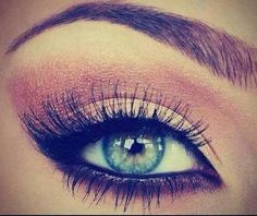 Make up for blue eyes!
