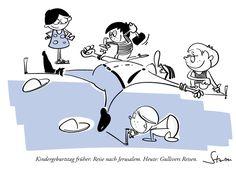 Kindergeburtstag - Reise nach Jerusalem sei voll 80er, meinten die Kleinen.