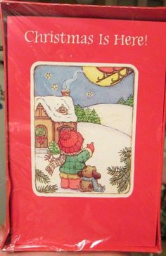 Vtg guideposts christmas cards story booklets angel children baby sealed box agc christmas cards child puppy dog watch santa sleigh fly away 20 m4hsunfo